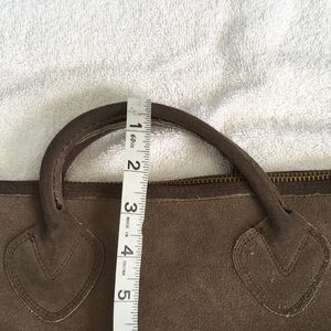 L.L. Bean Bags - Vintage LL Bean Suede/ Leather Tote